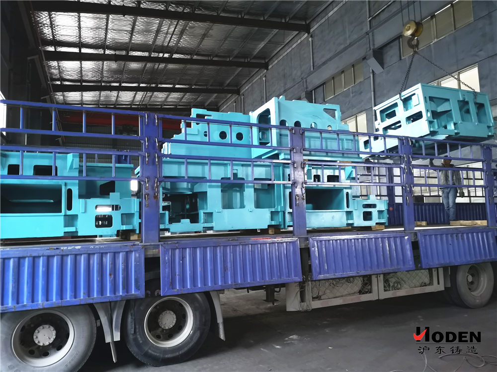 沪东铸造向山东烟台发运机床铸件产品回顾