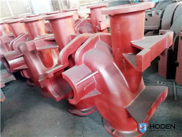 Pump cover casting