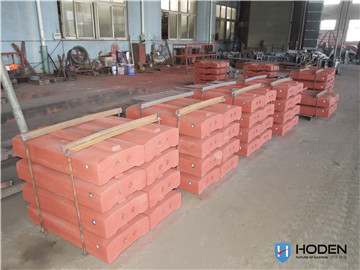 High chrome plate hammer