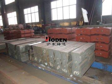 板锤质量的好坏决定破碎机生产的安全